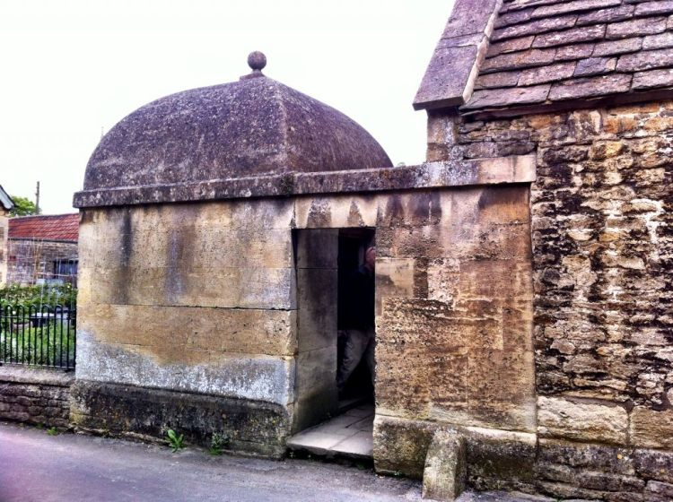 Blindhouse in Lacock, Wiltshire England