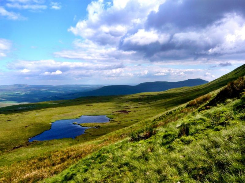 View from Whernside Yorkshire 3 Peaks
