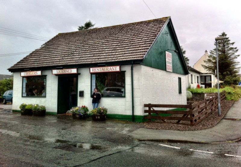 Creelers restaurant, Broadford Skye