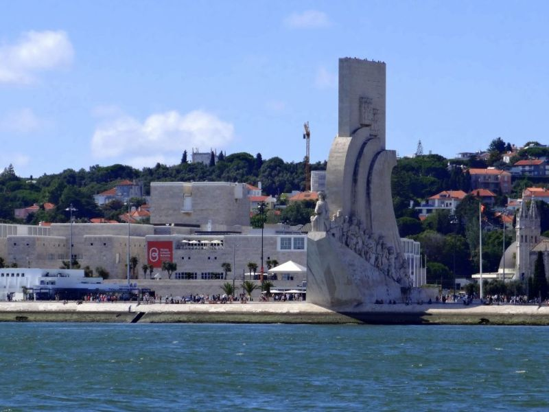 The Monument of the Discoveries in Lisbon
