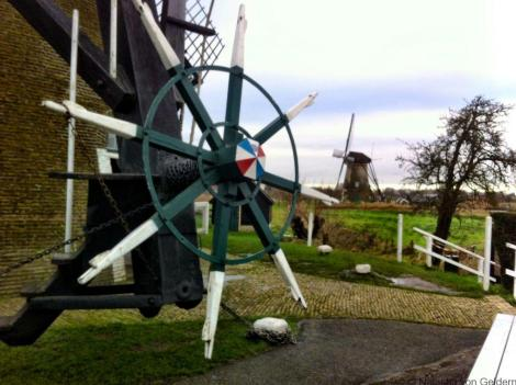 Kinderdijk windmill, South Holland, Netherlands