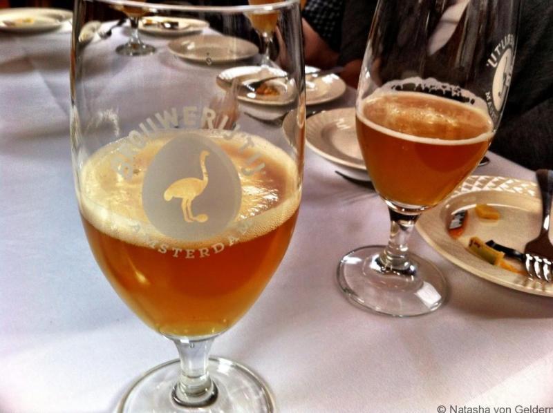 Zatte beer in Amsterdam