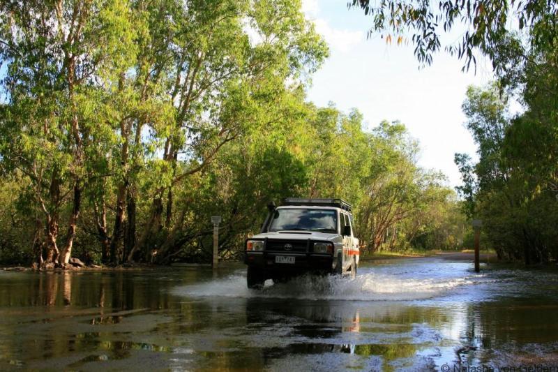 4WD driving in Kakadu National Park www.worldwanderingkiwi.com Natasha von Geldern