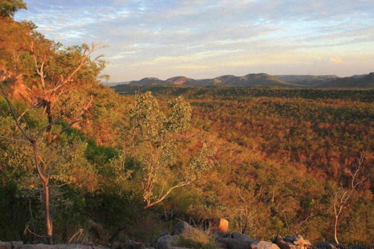 Gunlom Falls evening Kakadu National Park www.worldwanderingkiwi.com Natasha von Geldern