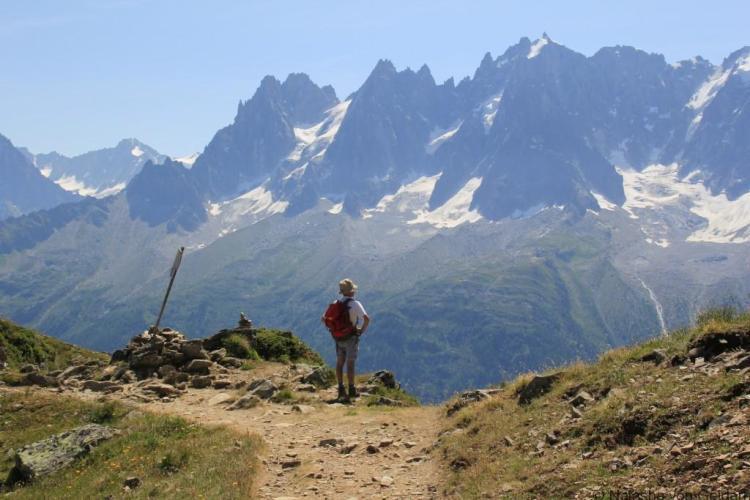 Bellachat to Le Brevent, Tour du Mt Blanc