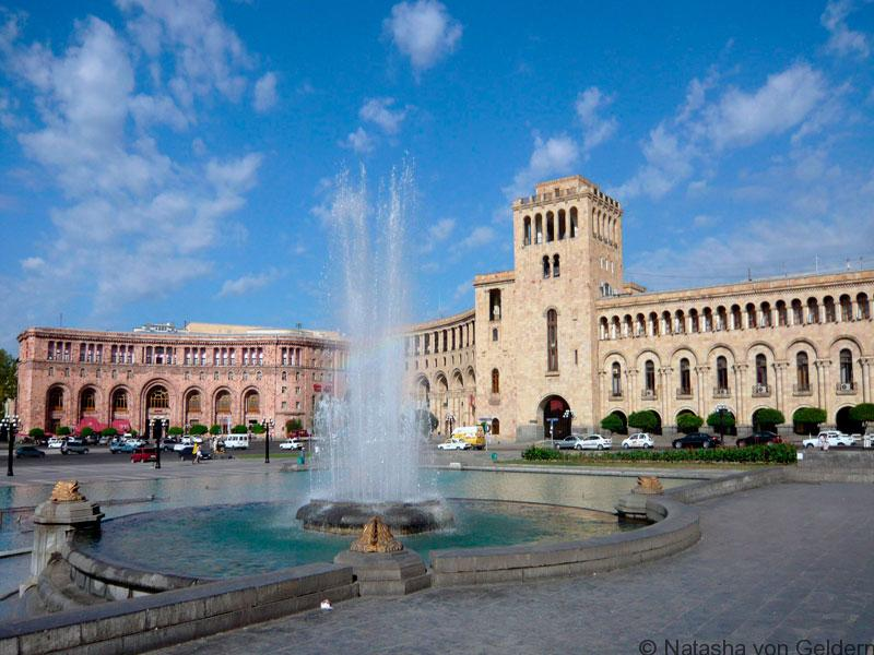 Republique square, Yerevan