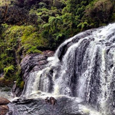 Bakers waterfall World's End Walk Horton Plains Sri Lanka