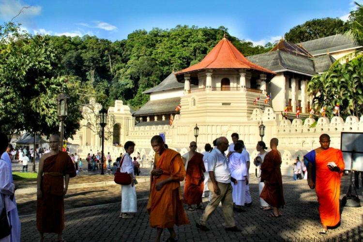 Temple of the Sacred Tooth Kandy Sri Lanka