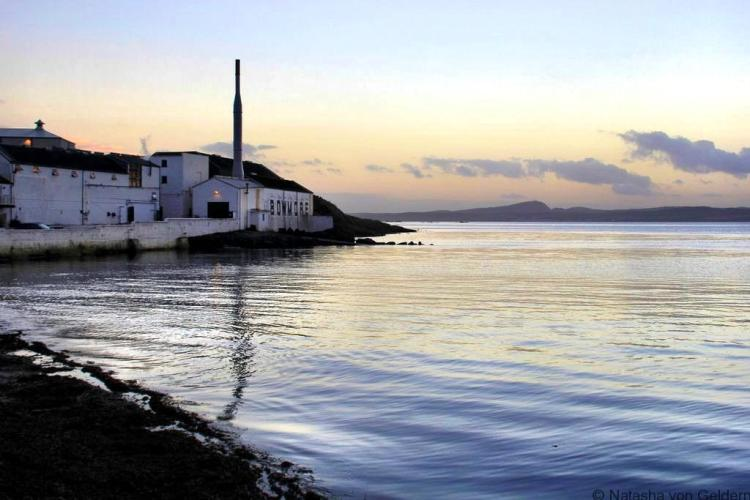 Bowmore Islay whisky distillery Scotland