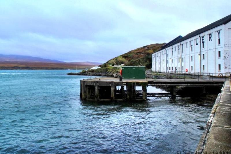 Caol Ila Islay whisky distillery Scotland
