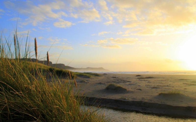 Islay sunset at Machir Bay Scotland