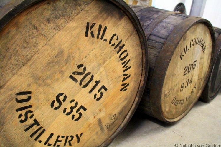 Kilchoman Islay whisky distillery Scotland