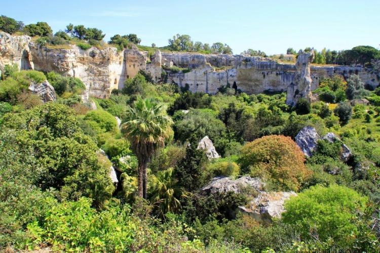 The Quarry of Neapolis Syracuse Sicily