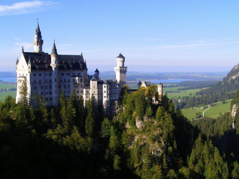 Neuschwanstein-castle-Bavaria