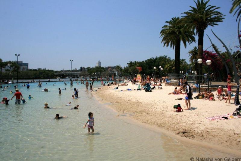 Brisbane Parklands city beach Australia