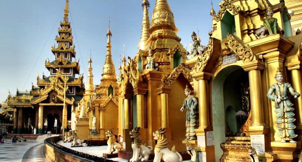 Shwedagon Pagoda Yangon Myanmar