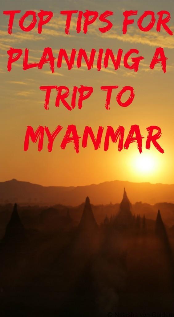 Top tips for planning Myanmar travel