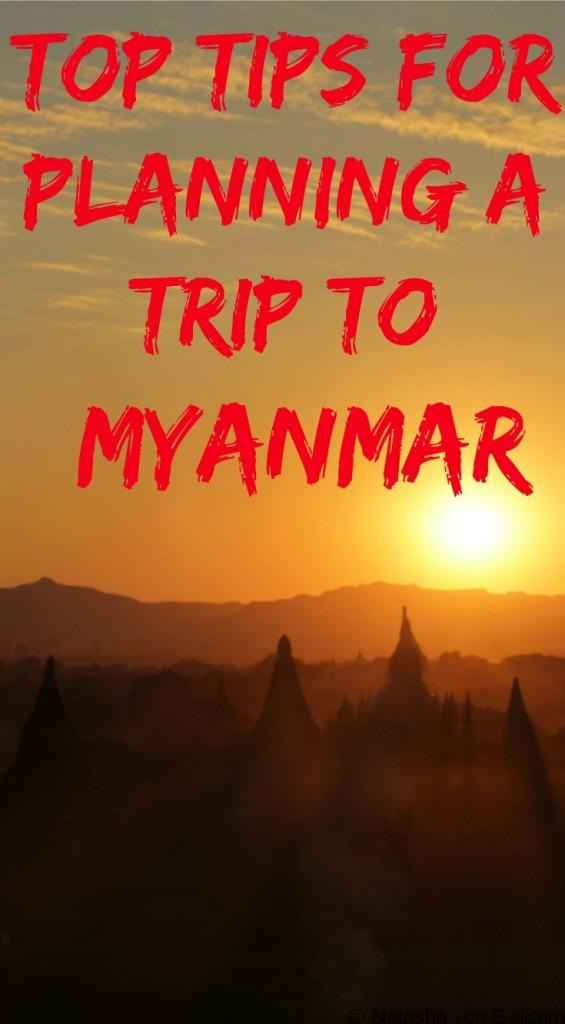 Top tips for planning Myanmar travel
