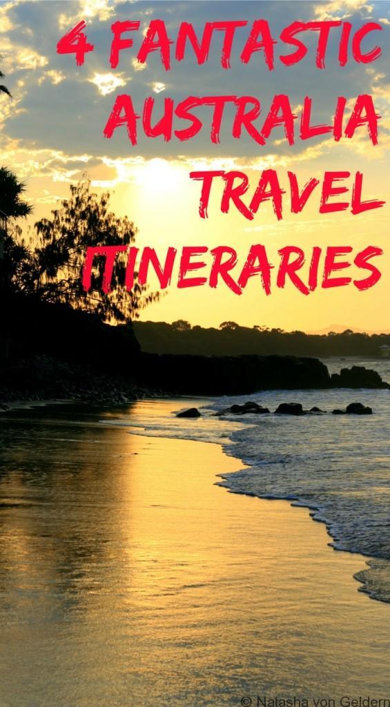 4 fantastic Australia travel itineraries
