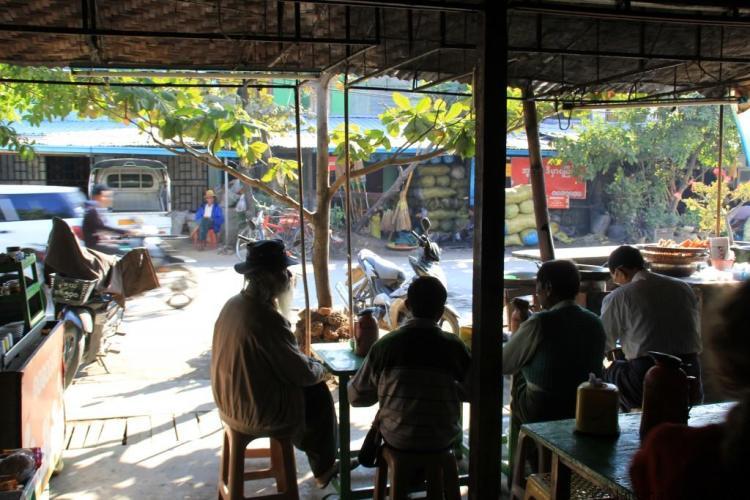 Mandalay Tea Shop Myanmar