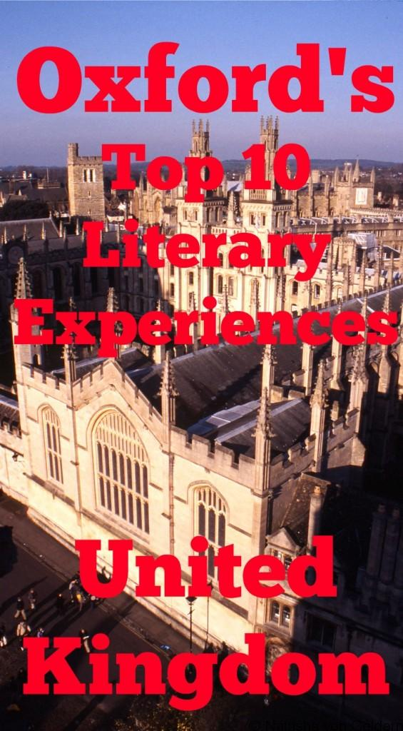 Top 10 Literary Experiences in Oxford, United Kingdom