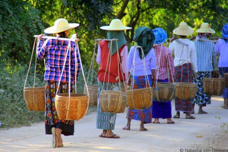 Wandering in Bagan Myanmar