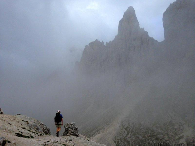 Alta Via 4 Dolomite Mountains Italy