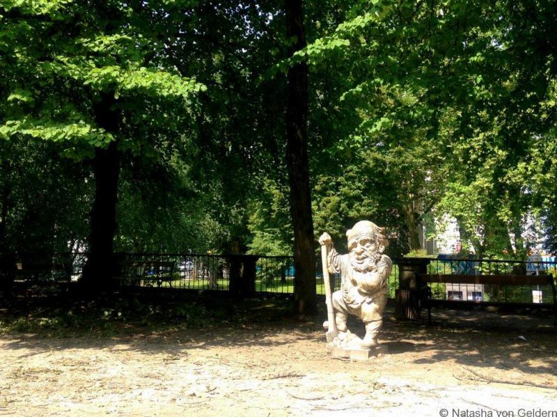 Dwarf garden Mirabell Salzburg Austria