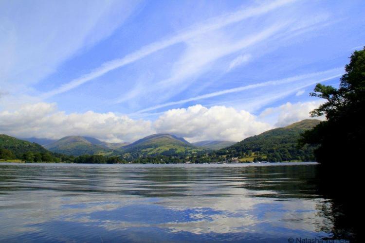 Kayaking on Lake Windermere Lake District