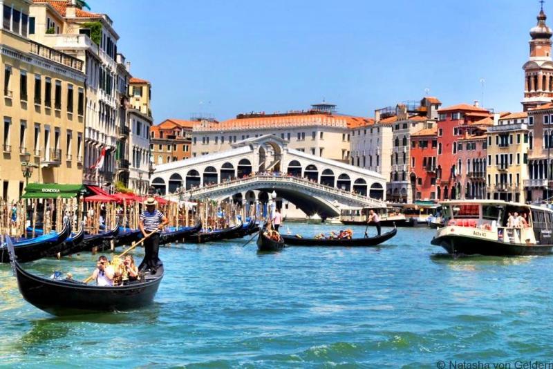Venice Rialto Bridge Italy