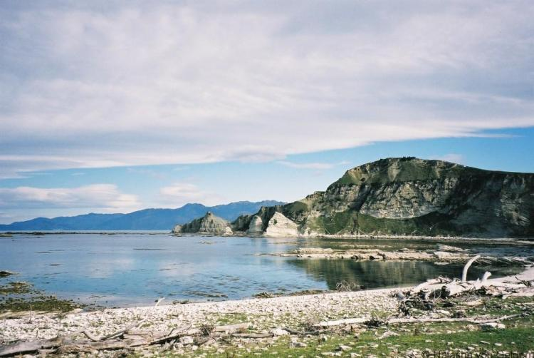 Kaikoura coast New Zealand