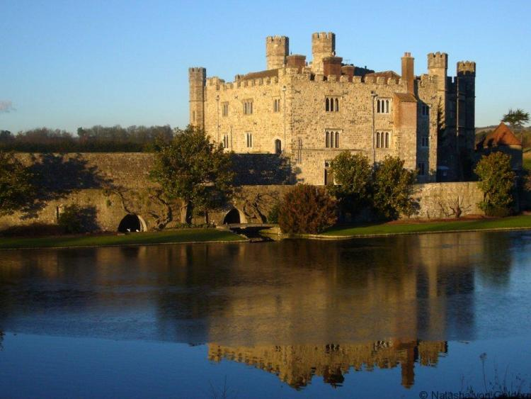 Leeds Castle in Kent United Kingdom