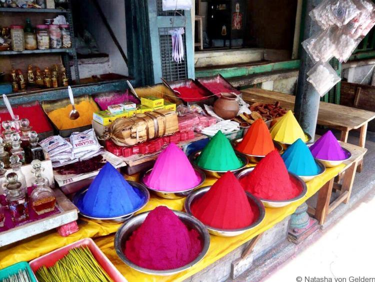 India Marketplace coloured dyes