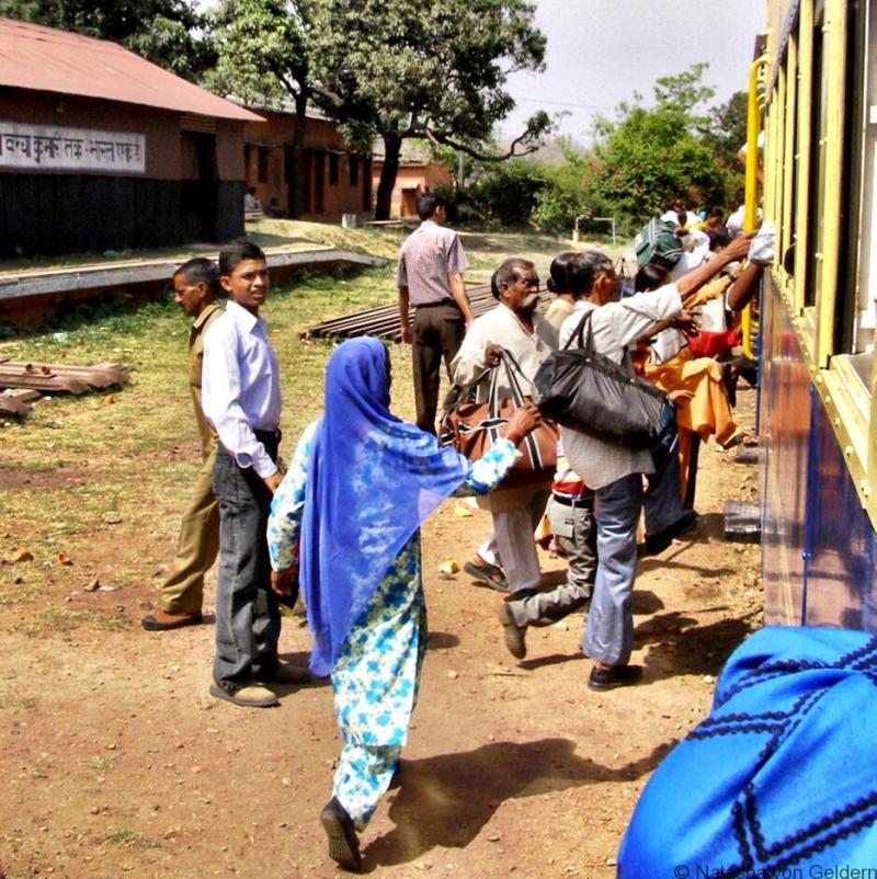 Kangra Valley Railway platform India