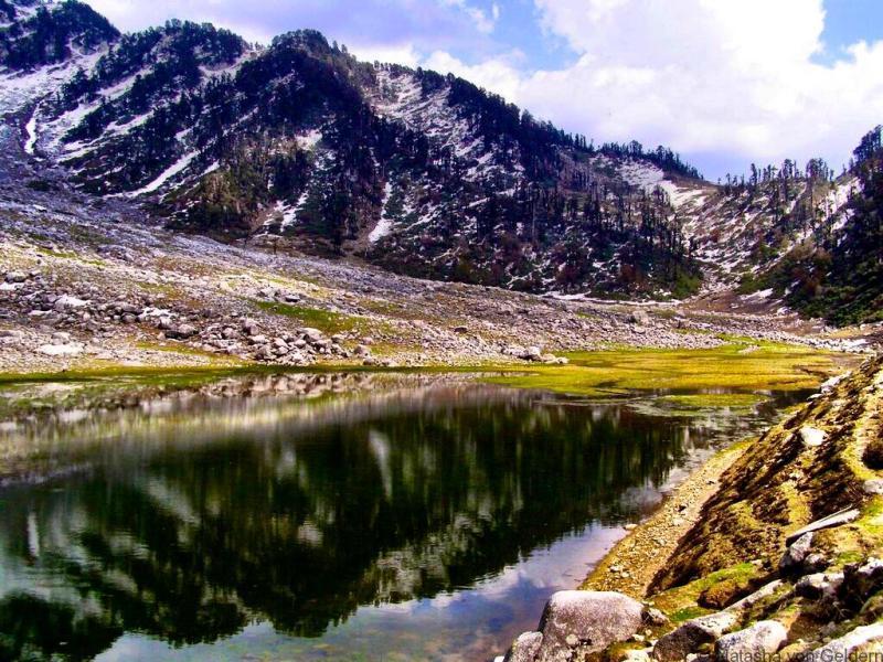 Kareri Lake multi day trek from McLeod Ganj India