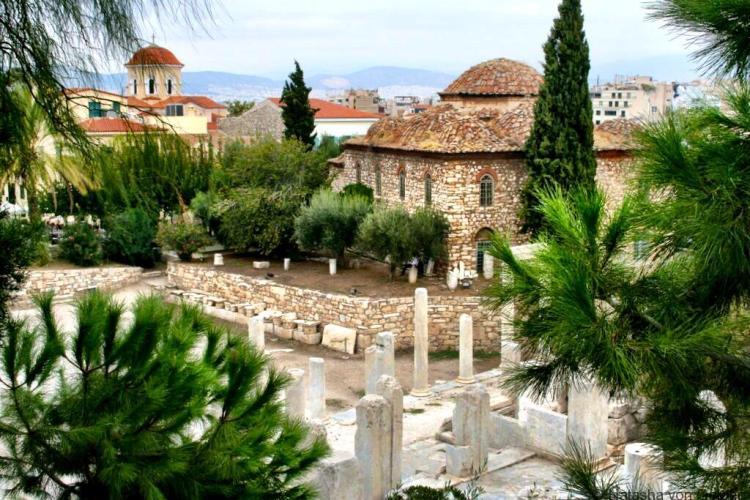 Exploring Athens Greece