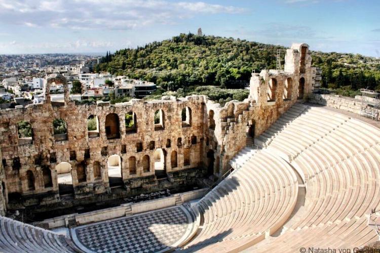 Greek Theatre Athens Greece