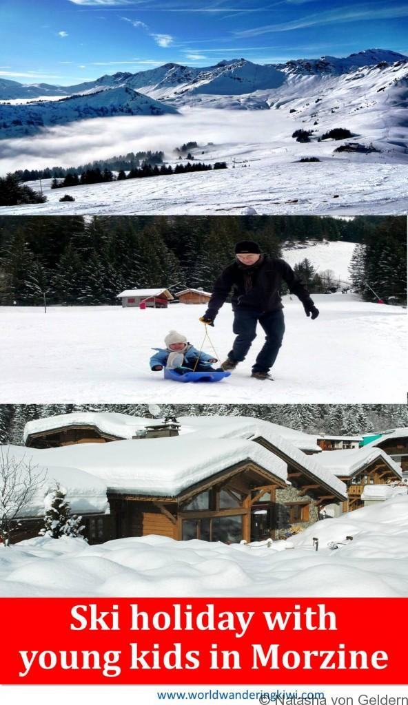 Ski holiday with young children Morzine Avoriaz France