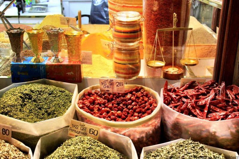 Souq Waqif in Doha stopover in Qatar