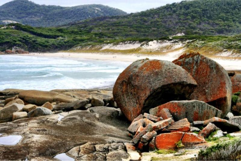 Walk to Squeaky Beach Wilsons Promontory Victoria Australia