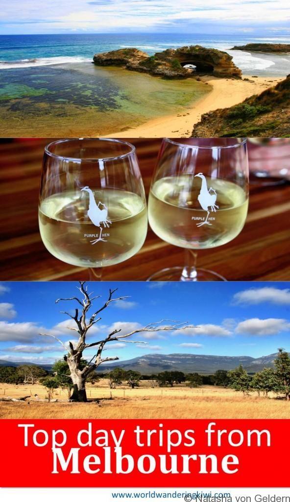 Top day and weekend trips from Melbourne Australia