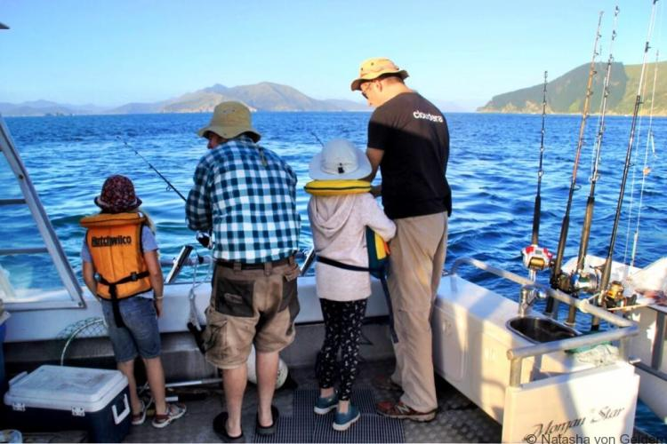 Fishing in the Marlborough Sounds New Zealand web