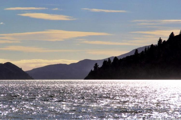 Pelorus Sound Marlborough region New Zealand