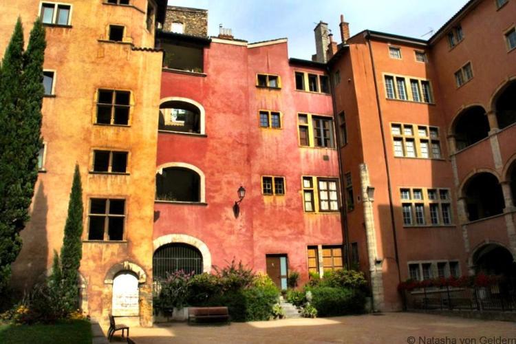 Architecture of Vieux Lyon France
