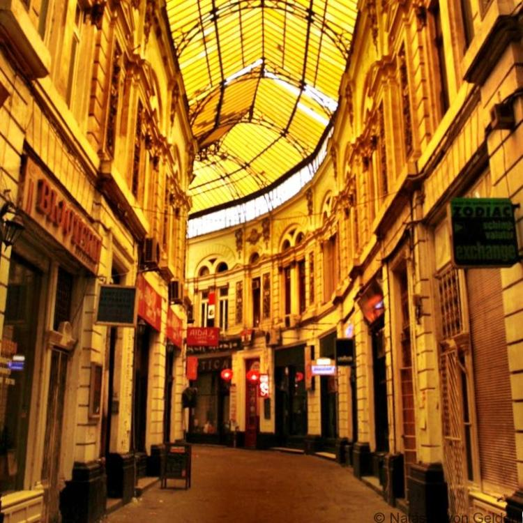 Bucharest arcade Romania