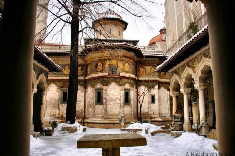 Historic Bucharest Church Romania