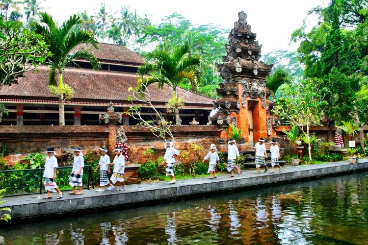 Bali Water Temple Indonesia