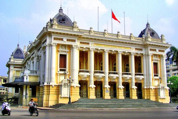 French colonial Ho Chi Minh City Vietnam