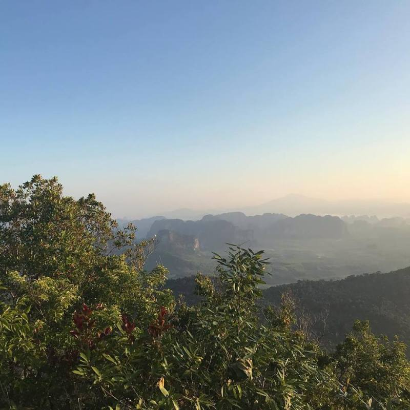 Krabi province in Thailand