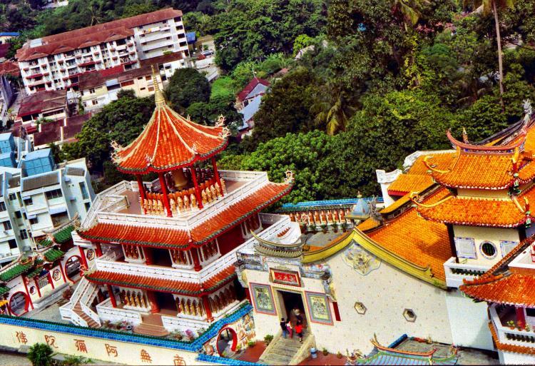 Kek Lok Si Buddhist temple Penang Malaysia